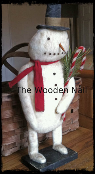 BC150 Prim Old Frosty Snowman