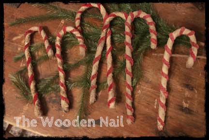 BC155 Prim Candy Canes