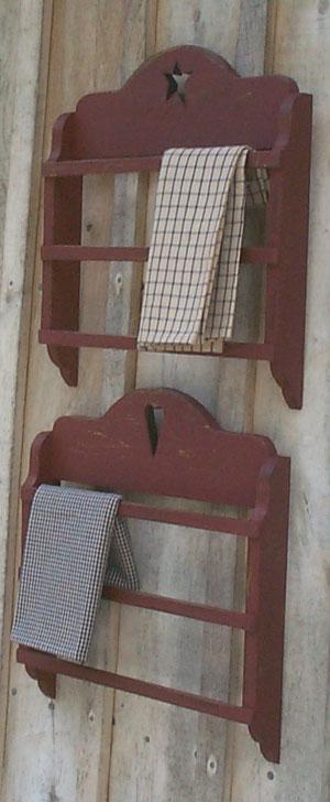 WN105 Primitive Towel Shlef Rack