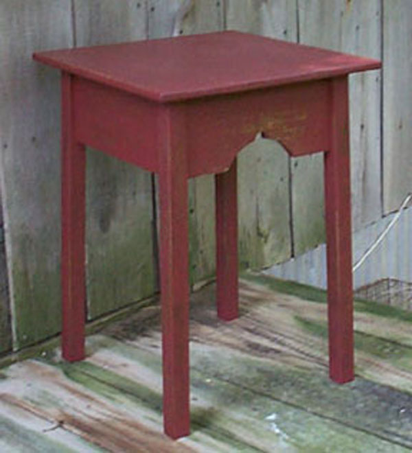 WN107 Old Large Porch End Table