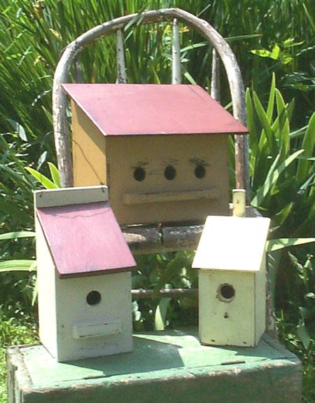 WN108 Prim Birdhouses