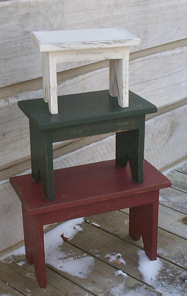 WN111 Primitive Stools/benches