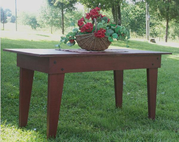 WN126 Farmhouse Kitchen Table