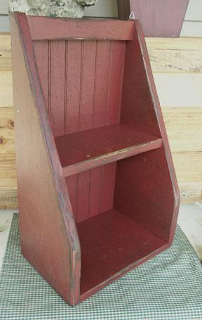 WN130 Primitive Cubby Shelf