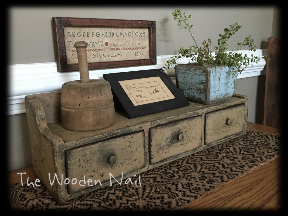 WN170 New England drawer cupboard