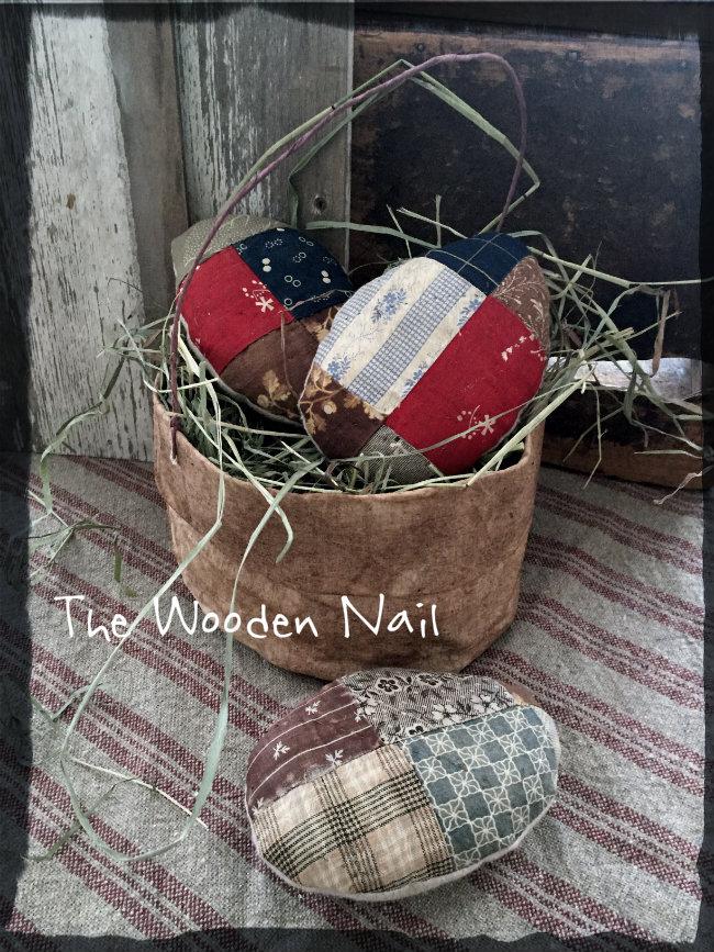 BC167 Prairie Basket and Egg Pattern
