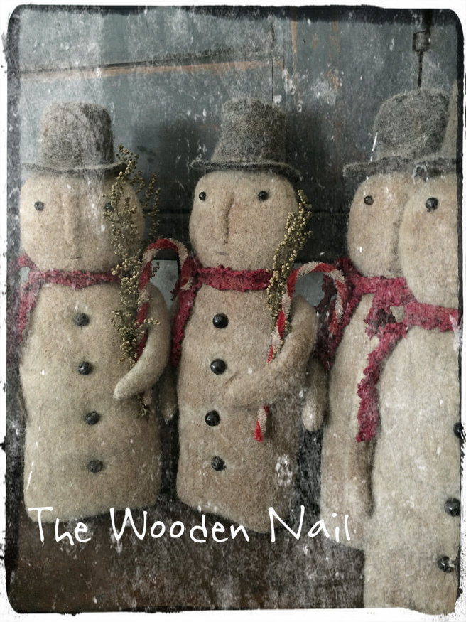 BC175 Vintage Snowman Pattern