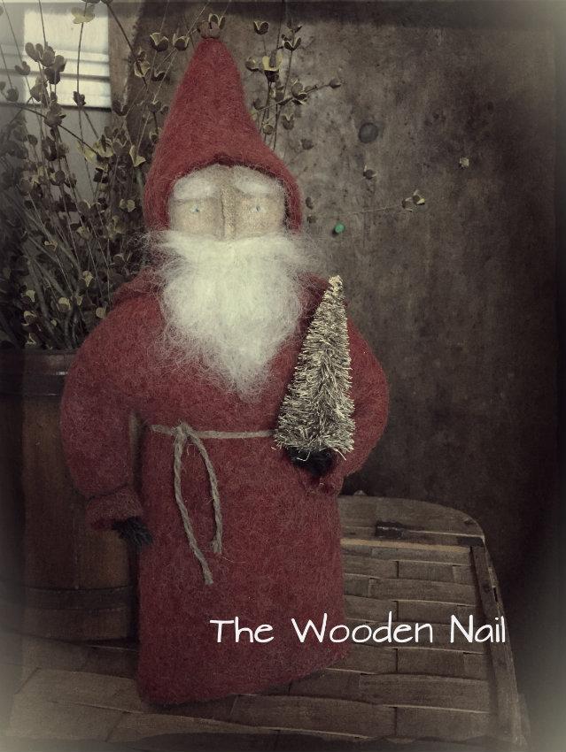 BC177 Old Fashion Santa